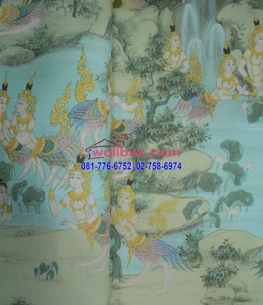 MLT11-05-wallpaper-LineThai-ลายในวรรณคดีกินรี