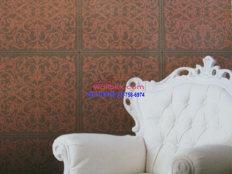 DSL12-51ตัวอย่าง wallpaper ติดผนังลายหนังลายขนสัตว์สีเทา