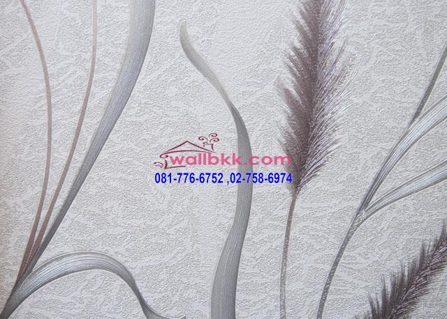 MAR45-21-วอลเปเปอร์นำเข้าจากเกาหลีลายดอกหญ้า