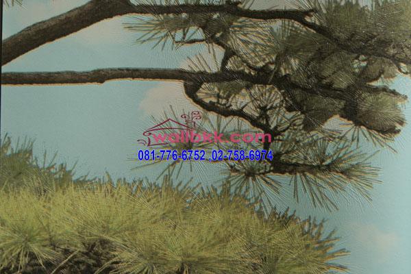 MSH45-015 วอลเปเปอร์เกาหลีลายกิ่งไม้ ต้นไม้