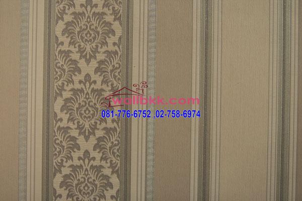 MSH45-026 วอลเปเปอร์เกาหลีติดผนังห้อง สีน้ำตาลอ่อน